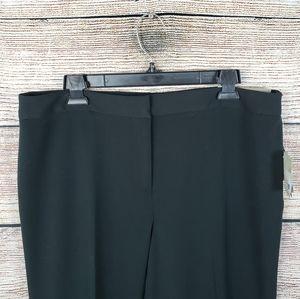 Liz Claiborne | Black Straight Leg Dress Pant